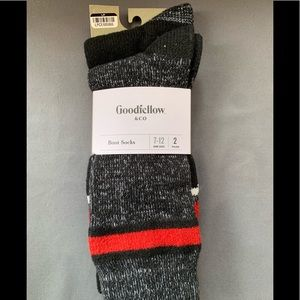 Goodfellow & Co Size 7-12 Boot Socks 2 Pairs
